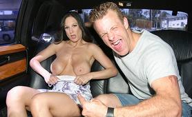 Sexy Milf cruising with big boobs
