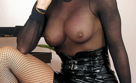 Hot Milf Professor see through big boobs
