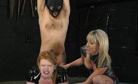 Wild fetish domination and anal fucking