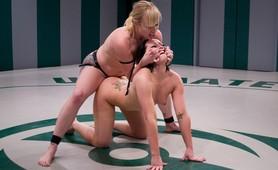 Girl vs Girl Wrestling