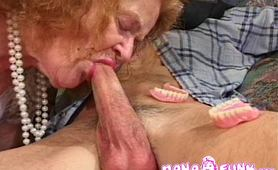Nana loves to suck cock