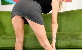 Hot big tits blonde fucked by huge dick brotha