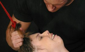 Abused slave anal fucked and severe bdsm