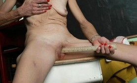 Pics of horny grannies naked spreading pussy