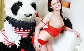 Sex scene with big Panda!