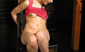 Sexy Fetish spanked amateur Madison