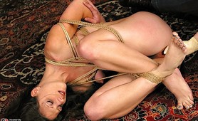 Hogtied slave mistress fetish punishment