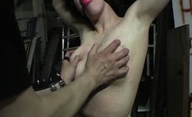 Slave suffers caged abuse and torture