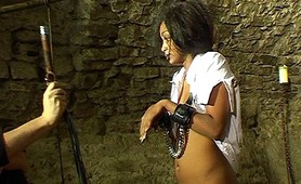 Pain vixen submits to fetish punishment