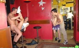 A very kinky horny birthday party with chicks