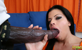 Alexandra takes huge cock and loves it