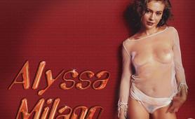 Alyssa Milano will you stunned