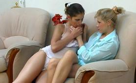 Emmanuel&Sophia frisky anal lesbian video