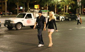 Blonde cheatin' whore gets busted on vid