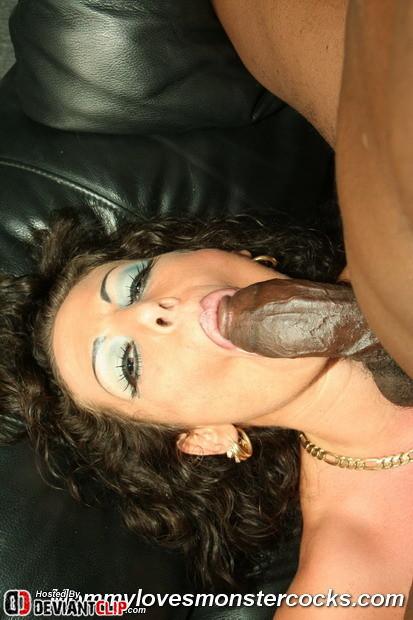 Big boobs Milf Angelica monster cock interracial doggyfucking (13/16)
