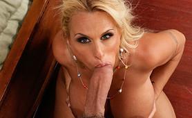 Holly Halston enjoys a good pounding from time to time by a young hard dick