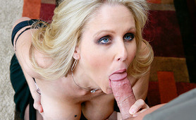 Julia Ann pounding away in her office with a coworker