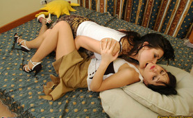 Salome&Ophelia leggy pantyhose duo