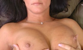 Hot big boobs Milf fucks young stud and facialized