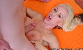 Davia Ardell cock craving for a tit fuck between her huge melons