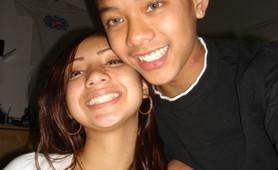 Asian teen cocksucker and her boyfriend