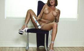 """Tory Lane Plays With Vibrator"""