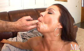 Naughty mommy loves fucking huge cocks