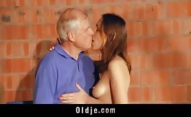 Ekaterina Makarova porn with old man