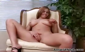 Angel fucks like a slut in all positions