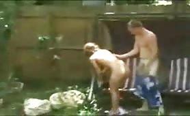 Amateur couple caught on cam