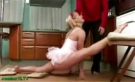 Acrobat Blonde Babe
