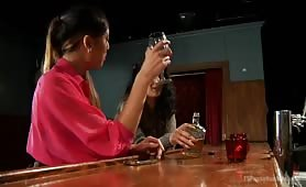 Arabelle and Venus are left alone in a bar with nothing better to do than get to know each other....intimately