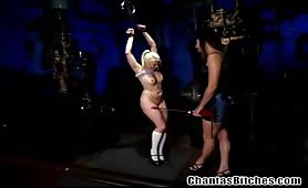 Extreme dominating amateur slave
