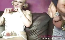 Candy Monroe in hot fetish domination