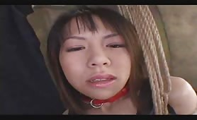 Asian Milf Gets Her Tits Milked The BDSM Way!