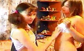 Teenie Lesbians Live on Dacams