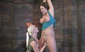 Bigtits Slave Taught a Lesson