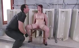 Slave in Severe Enema Audition