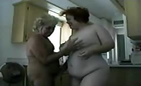 Chubby Mature Lesbians in Action