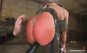 Ass training hogtied slave girls