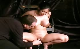 Oriental slavegirl pussy pain