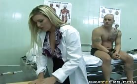 Dr. Monroe is used to seeing grown men cringe at the thought of getting their prostate exam