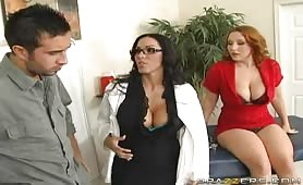Rebecca and Keiran haven't been having sex due to their busy alternate schedules. Without sex weighing on his mind Keiran's IQ has sky rocketed while his partners, Rebecca has plummeted. Not understanding just what the problem is they head to Dr. Veronica