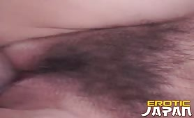Attractive japanese nymphet Azumi Aoi getting tight pussy humped hard