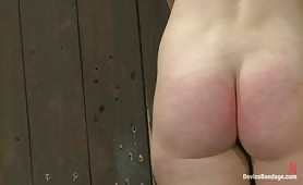 Caged slaves whipped fucked and tortured
