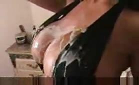 Big boobs milf doggyfucked hard