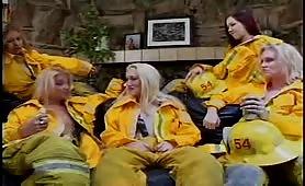 FireFighteress Lesbian Gangbang