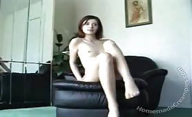 Sexy Slim Wife gets homemade cunt slamming