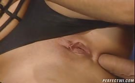 Sexy hot brunette has everything you can dream of! This bitch loves huge dicks and will put them in any hole you want! She'll make you cum hard and she'll fucking love it!