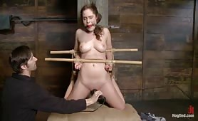 Strict fetish amateur bdsm punishment
